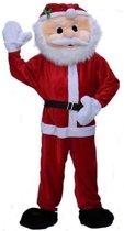 Luxe pluche kerstman kostuum
