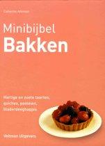 Boek cover Minibijbel - Bakken van Catherine Atkinson