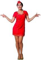 Stewardess Jurk Rood
