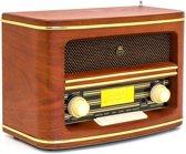 GPO WINCHESTERDAB - DAB+/FM-radio met jaren '50 ontwerp