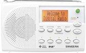 Sangean DPR-65 portable radio, met DAB+