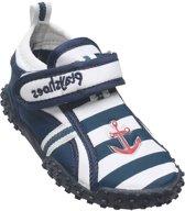 Playshoes UV strandschoentjes Kinderen Maritime - Blauw - Maat 18/19