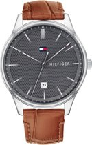 Tommy Hilfiger TH1791492 Watches - Leer - Bruin - Ø44mm