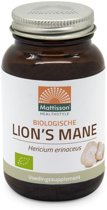 Mattisson / Lion's Mane 500mg v-caps Biologisch – 60 vcaps