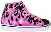 Heelys Veloz zwart roze sneakers meisjes (770826H)