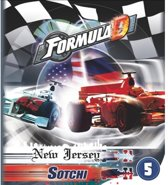 Formula D - expansion 5 NY - Sotchi - Bordspel