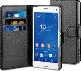 BeHello Wallet Case voor Sony Xperia Z3 Compact - Zwart