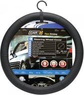Car Plus Stuurhoes Universeel Pvc Zwart 35-36 Cm