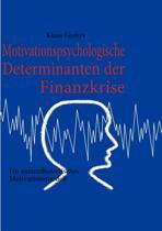 Motivationspsychologische Determinanten Der Finanzkrise