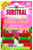 Meststofstaafjes bloeiende planten - 40 staafjes