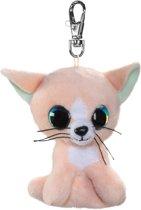 Lumo Stars Cat Peach met clip Mini 8.5cm