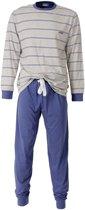 Heren pyjama Blauw MEPYH1407B-M17