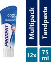 Prodent Coolmint - 12 x 75 ml - Tandpasta - Voordeelverpakking