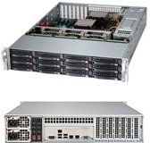 Supermicro 6028R-E1CR12T Intel C612 LGA 2011 (Socket R) 2U Zwart, Grijs