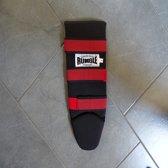 B-Stock Rumble Scheenbeschermer Zwart Rood-XS