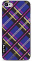 Casetastic Softcover Apple iPhone 7 / 8 - Purple Tartan