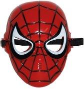 Plastic spinnenheld masker met elastiek