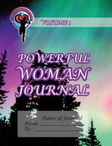 Powerful Woman Journal - Northern Lights
