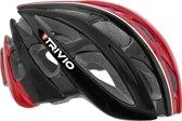 Trivio Cirrus - Fietshelm - 58-61 cm - Black/Red/White