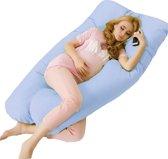 Zwangerschapskussen Extra Groot - Blauw