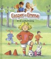 Casper en Emma en de voetbaltraining
