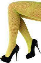 Netpanty fluo geel