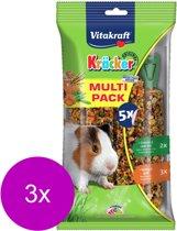 Vitakraft Kräckers Honing & Groente - Cavia - Snack - 3 x 280 gr