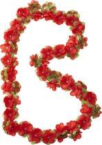 Basil Flower Garland - Bloemenstreng - Rood