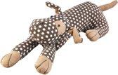 Katoenen Hond 63 cm bruin