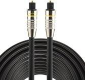 Ninzer Digitale Optische OD 6.0 mm Toslink audio fiber kabel male / male 1,5 meter zwart
