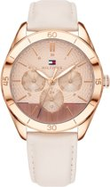 Tommy Hilfiger TH1781887 horloge dames - wit - edelstaal PVD ros�