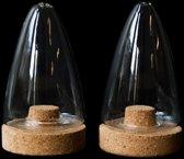 Puik Art Boeien Peper- en Zoutstel - Transparant - Glas