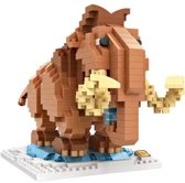 "Ice Age"" mammoet, LOZ, Diamond Blocks"