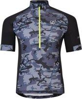 Dare 2b-Percept Jersey-Fietsshirt-Mannen-MAAT XL-Zwart