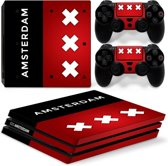 Amsterdam - PS4 Pro Console Skins PlayStation Stickers