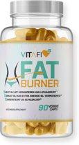 Vitafi Fat Burner - Vetverbrandende afslank vegan capsule - Afvallen - 90 caps - 30 dagen gewicht verliezen