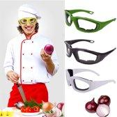 Barbecue- Veiligheidsbril- Koken-Uien bril Zwart