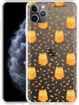 Apple iPhone 11 Pro Max Hoesje Cute Owls