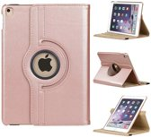 iPad Air Rotatie hoes cover met stand  Rose Goud