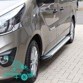 Opel Vivaro Treeplanken | Opel Vivaro 2001+ | Renault Trafic 2001+ | Nissan NV300 2016+ | Fiat Talento 2016+ | L1 | Aluminium