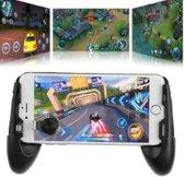 Cover van de game Portable Gamepad - Gamehandles - Smartphone - Iphone/Android - Mobiele Telefoon - PUBG - Fortnite - FPS - Shooters