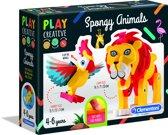 Clementoni - Play Creative - Maak je eigen dieren - Hobbypakket