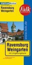 Falk Stadtplan Extra Standardfaltung Ravensburg
