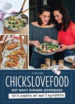 Boek cover Chickslovefood - Het daily dinner-kookboek van Elise Gruppen (Onbekend)