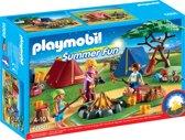 PLAYMOBIL Tentenkamp met kampvuur - 6888