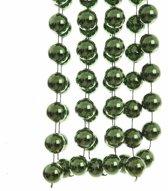 Kerst XXL kralen slinger groen 270 cm - kerstslinger