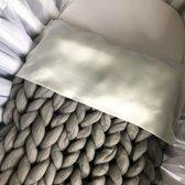 XXL deken grijs 70 x 90 centimeter / wiegdeken