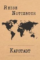 Reise Notizbuch Kapstadt