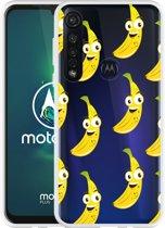 Motorola Moto G8 Plus Hoesje Happy Banaan