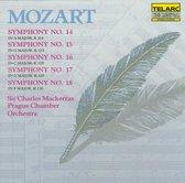 Mozart: Symphonies 14, 15, 16, 17, 18 / Mackerras, Prague CO